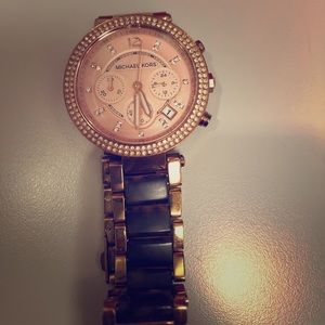 Michael Kors Rose Gold Watch!